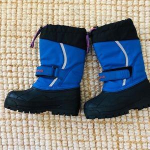 L L Bean kid's snow boots